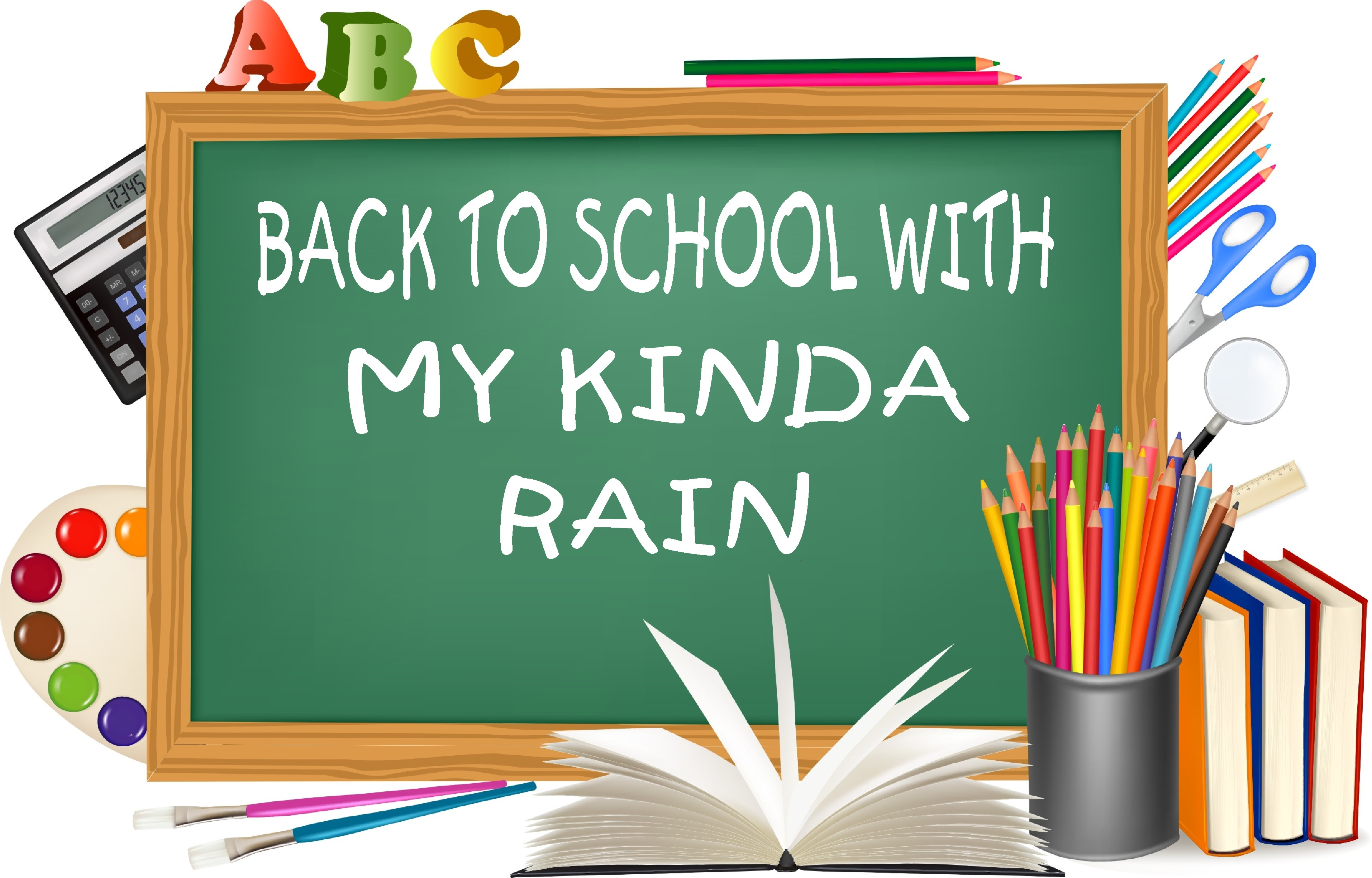 My kinda rain s back to school series is back again for a second